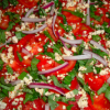 Italian Roma Tomato Salad