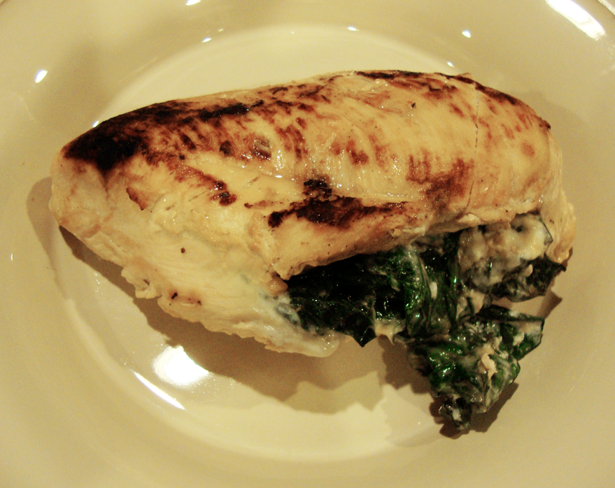 Chicken Breasts With Stuffed Spinach and Goat Cheese | Miracle Skinny ...