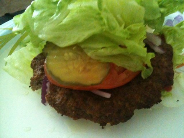 Low Carb Burger | Miracle Skinny Drops