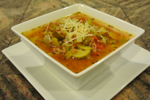Turkey Zucchini Soup